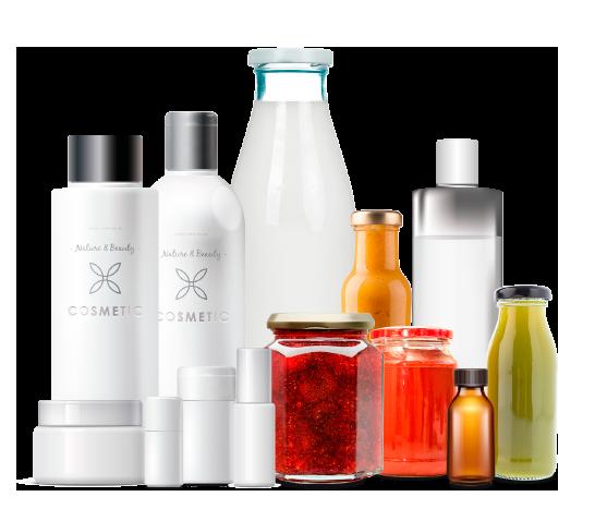Macchine automatiche e semiautomatiche riempitrici e tappatrici per il settore alimentare, cosmetico e chimico